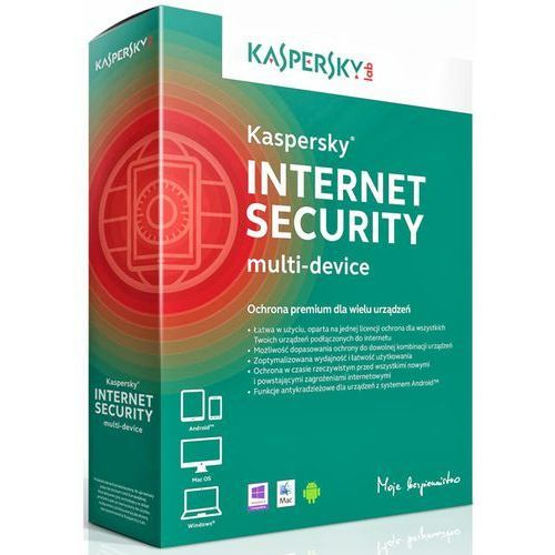 Kaspersky Internet Security 2014 2 PC/12 Miec ESD (oprogramowanie)