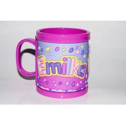 Kubek imienny dla dziecka, Emilka - z kategorii- pozostałe artykuły szkolne i plastyczne