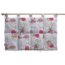 Dekoria Wezgłowie na szelkach, różowe kwiaty na jasnym tle, 90 x 67 cm, Ashley