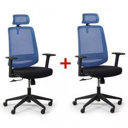 B2b partner Krzesło biurowe rich 1 + 1 gratis, niebieski