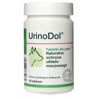 Dolfos  urinodol dog prep. dla psów wspomagający prawidłowe funkcje układu moczowego, 60tabletek