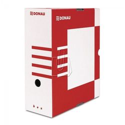 Pudełko archiwizacyjne 120mm Donau czerwone, BP10181