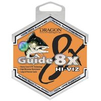 guide 8x hi-viz / 150m / 0,12mm / 10,70kg / pomarańczowa fluo marki Dragon