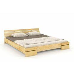 Łóżko drewniane sosnowe SPARTA Long 90-200x220, SC-0058