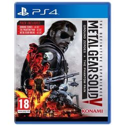 Metal Gear Solid 5 The Definitive Experince, gatunek gry: akcja