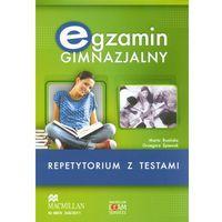 Egzamin Gimnazjalny Repetytorium z testami z płytą CD (9788360806364)