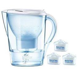 Dzbanek BRITA Marella Cool Biała + 3 wkłady Maxtra