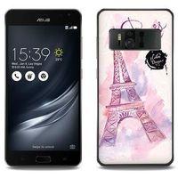Fantastic Case - Asus Zenfone AR - etui na telefon Fantastic Case - różowa wieża eiffla