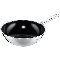 Silit patelnia typu wok Wuhan 21.3726.3753 stal nierdzewna 18/10, powłoka zapobiegająca przywieraniu, przeznaczony do płyt indukcyjnych, Ø 28 cm (4036971607999)