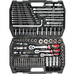Zestaw narzędziowy 1/2'', 128 cz, xl / YT-3887 / YATO - ZYSKAJ RABAT 30 ZŁ (5906083938870)