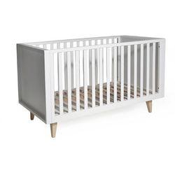łóżeczko drewniane scandy 120x60 marki Troll nursery