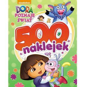 Dora poznaje świat. 500 naklejek (2016)