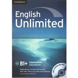 English Unlimited Intermediate CourseBook w/e-portofolio /DVD gratis/ (ilość stron 166)