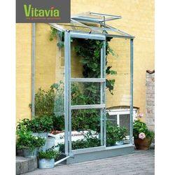 Przyścienna szklarnia ogrodowa ida 0,69 x 1,32 m marki Vitavia