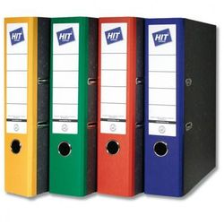 Kolorowe segregatory dźwigniowe - szerokość 7,5 cm marki Hit office