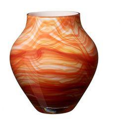 Villeroy & boch - oronda wazon pomarańczowy wysokość: 21 cm