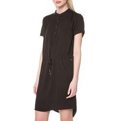 Calvin Klein Dacey Dress Czarny XS, kolor czarny