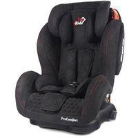 Fotelik samochodowy 9-36 kg  pro comfort isofix zamsz black marki Top kids