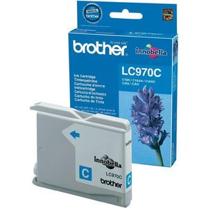Brother oryginalny ink lc-970c, cyan, 300s, brother dcp-135c, 150c, mfc-235c, 260c