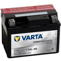 Varta Akumulator motocyklowy Powersports AGM YT4L-4 / YT4L-BS - sprawdź w wybranym sklepie