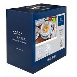 Kahla blau saks zestaw obiadowy 12 el
