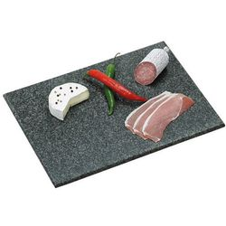 Kesper Ozdobna deska do krojenia z granitu, deska do krojenia, deska do serwowania, deska kuchenna, półmisek, akcesoria kuchenne, (4000270384011)