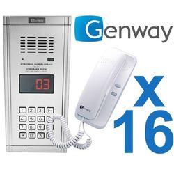 Zestaw domofonowy 16 rodzinny wl-03nl marki Genway