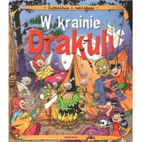 Album z naklejkami W krainie Drakuli, praca zbiorowa