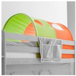 TICAA Tunel do łóżek piętrowych Classic kolor zielono-pomarańczowy (4250393809414)