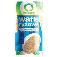 Kupiec Wafle ryżowe z solą morską a'12 120 g  (5902172001555)