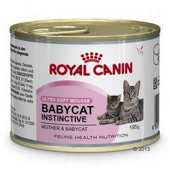 babycat instinctive mousse - 6 x 195 g wyprodukowany przez Royal canin
