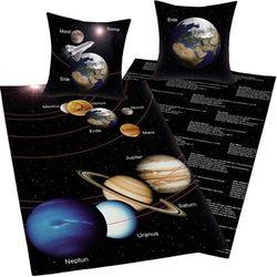 Herding  dziecięca pościel bawełniana kosmos, 140 x 200 cm, 70 x 90 cm
