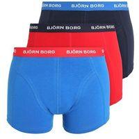 Björn Borg SOLIDS 3PACK Panty dark blue, w 5 rozmiarach