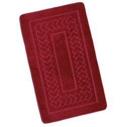 Dywanik łazienkowy Standard Czerwony, 60 x 100 cm