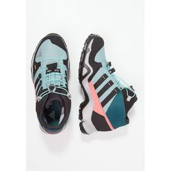 adidas Performance TERREX MID GTX Buty trekkingowe vapour steel/core black/tech green