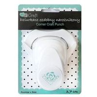 Dziurkacz dekoracyjny narożnikowy 3,7 cm - róża - ra marki Dalprint