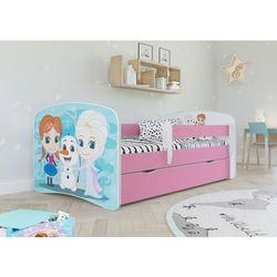 Łóżeczko dla dziewczynki 160x80 BABYDREAMS (5903271924837)
