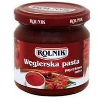 Rolnik Pasta paprykowa węgierska ostra 200 ml