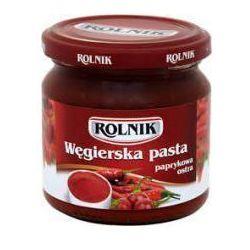 Pasta paprykowa węgierska ostra 200 ml Rolnik z kategorii Przetwory warzywne i owocowe
