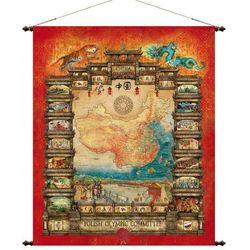 Chiny mapa ścienna 97 x 121 cm Pergamena - sprawdź w ArtTravel.pl