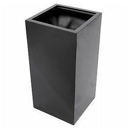 Europalms leichtsin box-100, shiny-black, doniczka