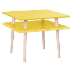 Stolik kawowy Square medium żółty by Ragaba, RagabaSQ25