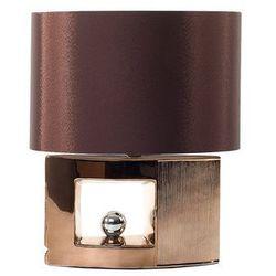 Nowoczesna lampka nocna - lampa stojąca w kolorze brązowym - duero marki Beliani