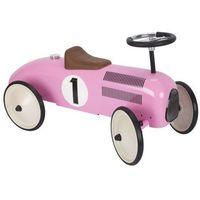 Jeździk  - różowa wyścigówka marki Goki