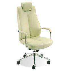 Fotel gabinetowy SONATA LUX HRUA steel28 chrome, Nowy Styl