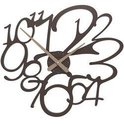 Zegar ścienny Frivolous CalleaDesign czekoladowy, kolor brązowy