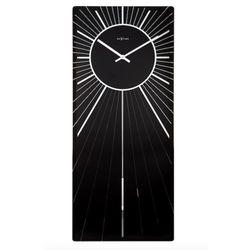 Nextime :: zegar ścienny heavenly 30 x 70cm czarny