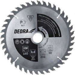 Tarcza do cięcia DEDRA H13014 130 x 20 mm do drewna (5902628814456)