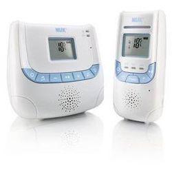 Nuk Elektroniczna niania eco control+ z wyświetlaczem biała/niebieska