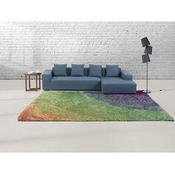 Beliani Dywan w kolorach tęczy - 300x400 cm - shaggy - poliester - bursa